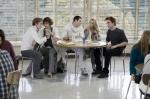I Cullen a pranzo a scuola