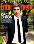 Zac Efron per EW Cover