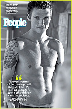 Thanks Nick carter sexy cover grateful