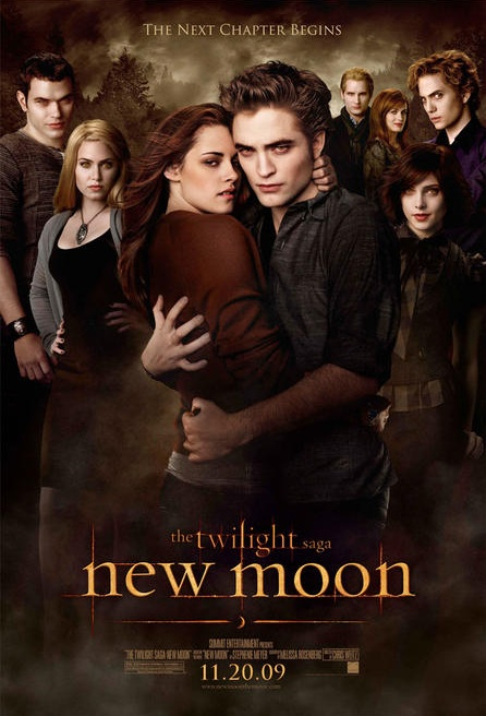 New Moon Poster - The Cullens